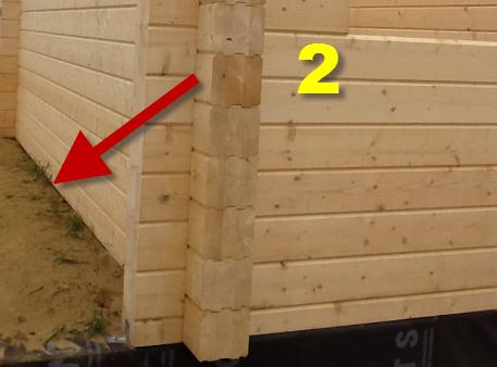 Ошибки строительства из бруса. Фото и консультации