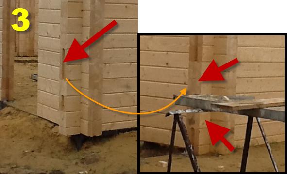 Фото ошибок строительства из дерева