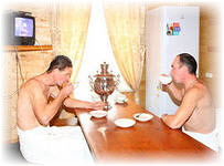 Комната для отдыха в бане