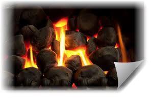 Огонь на камнях