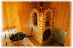 Печь для русской бани. Фото