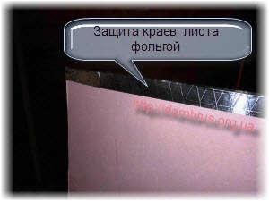 Использование гипсократона для защиты стен сруба. Фото