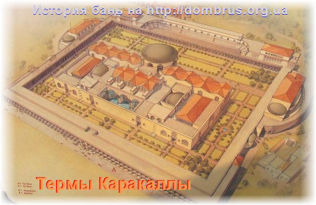 Термы Каракаллы. Фото