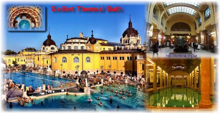 Источники Будапешта - самые знаменитые бани  на весь мир
