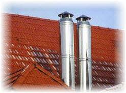 Дымоходы и трубы для банных печей и саун