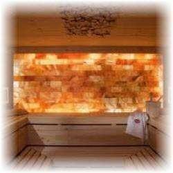 Парилка из гималайской соли. Фото