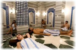 Посещение хамам в Турции