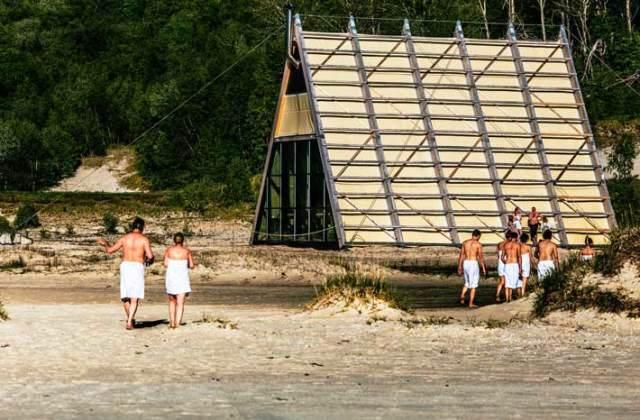 Самая большая и интересная сауна в Норвегии