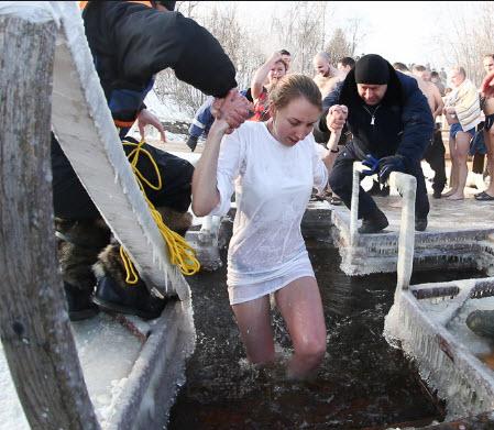 как купаться в крещенские морозы без вреда организму