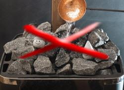 Объем камня в каменке. Сколько камней в каменку надо укладывать?