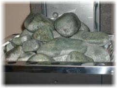 Камни для бани. Фото