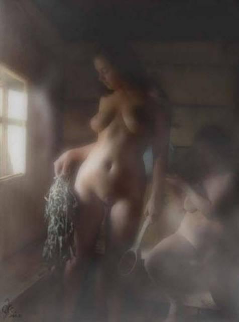 Эротика в бане. Картинки и фото