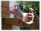 Использование клея ПВА для ремонта бруса сруба бани. Фото