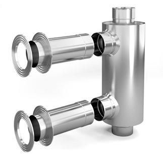 Конвектор на трубу для обогрева бани