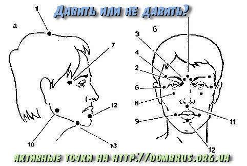 Как делать точечный массаж лица?