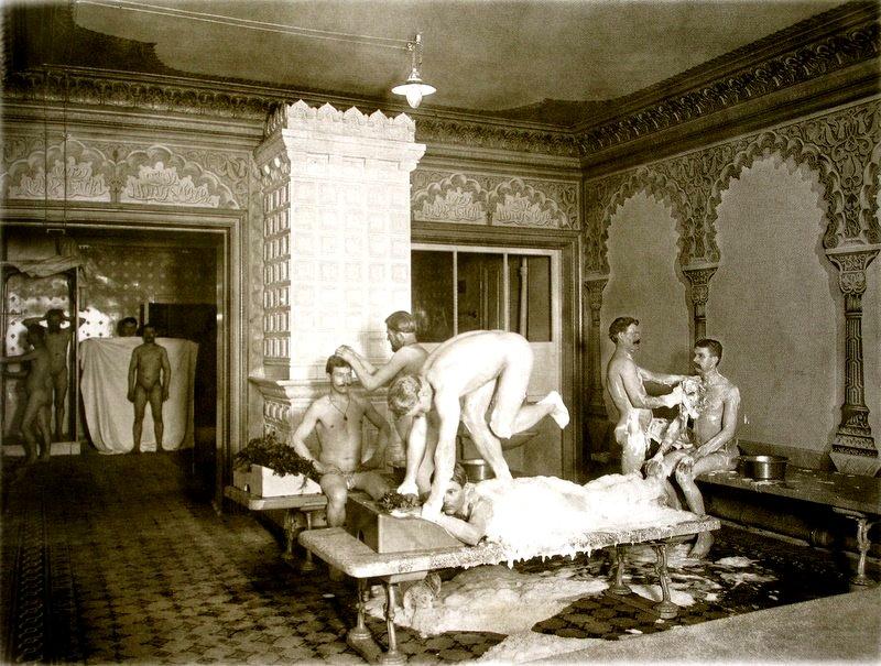 Особенности бани в 19 веке