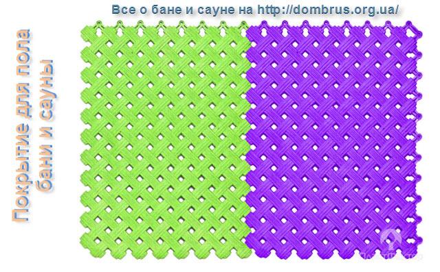 Напольное покрытие для бань и сауны