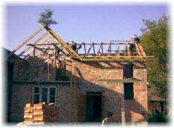 Обряд завершения строительства дома у славян