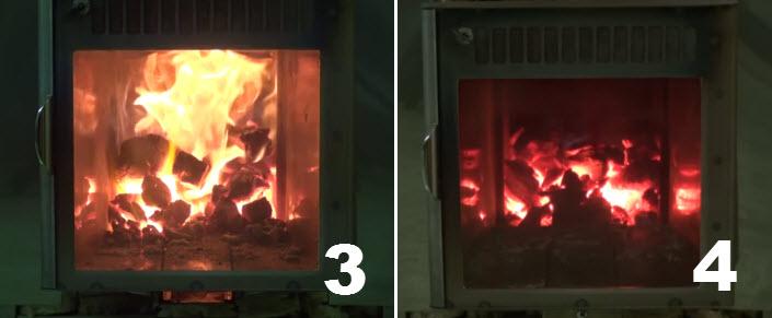 Особенности горения дров в подовой печи верхнего горения
