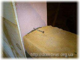 Укрепление перегородки из кирпича к стенам. Фото