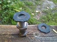 Изготовление прокладок для водяных труб своими руками. Фото