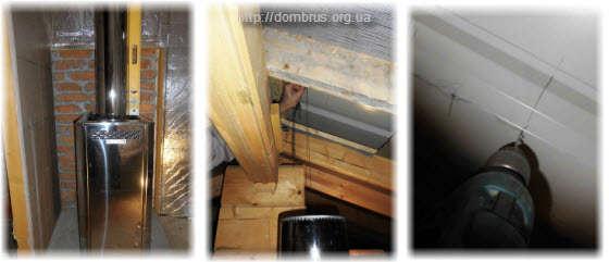 ПРоход  трубы через крышу. Как сделать? Фото