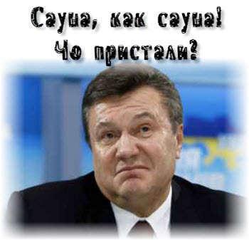 Сауна для Януковича - особый градус
