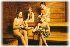Семейная русская баня. Фото
