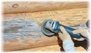 Отбеливание древесины шлифованием