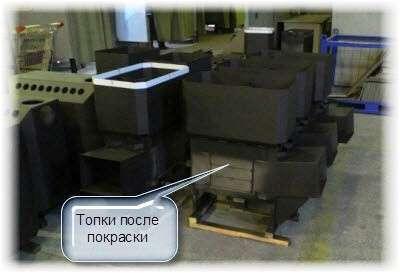 Купить печи Теплодар в Киев. Фото
