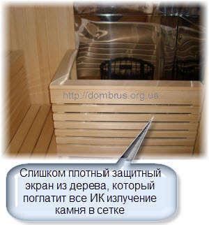 Установка печи в бане или сауне