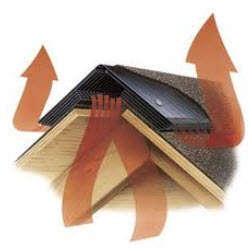 Схема: вентиляция крыши в деревянной бане.  Фото