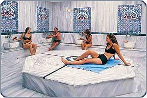 Хаммам -турецкая баня. Фото