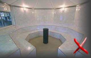 Форма помещения для хаммама