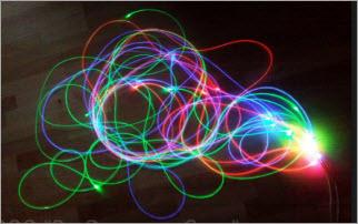 Освещение с боковым потоком света